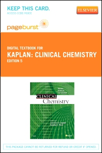 cover image - Clinical Chemistry - Elsevier eBook on VitalSource (Retail Access Card),5th Edition
