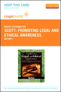 cover image - Promoting Legal and Ethical Awareness - Elsevier eBook on VitalSource (Retail Access Card)