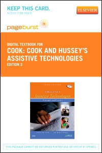 cover image - Cook and Hussey's Assistive Technologies - Elsevier eBook on VitalSource (Retail Access Card),3rd Edition