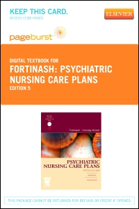 cover image - Psychiatric Nursing Care Plans - Elsevier eBook on VitalSource (Retail Access Card),5th Edition