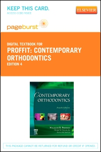 cover image - Contemporary Orthodontics - Elsevier eBook on VitalSource (Retail Access Card),4th Edition
