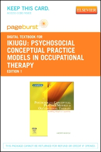 cover image - Psychosocial Conceptual Practice Models in Occupational Therapy - Elsevier eBook on VitalSource (Retail Access Card)