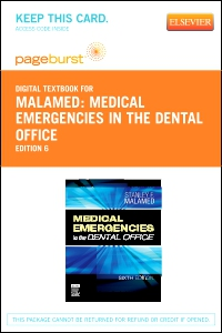 cover image - Medical Emergencies in the Dental Office - Elsevier eBook on VitalSource (Retail Access Card),6th Edition