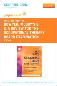 cover image - Mosby's Q & A Review for the Occupational Therapy Board Examination - Elsevier eBook on VitalSource (Retail Access Card)