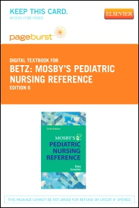 cover image - Mosby's Pediatric Nursing Reference - Elsevier eBook on VitalSource (Retail Access Card),6th Edition