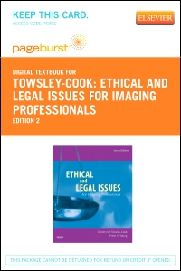 cover image - Ethical and Legal Issues for Imaging Professionals - Elsevier eBook on VitalSource (Retail Access Card),2nd Edition