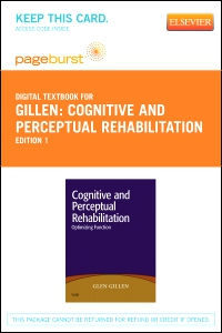 cover image - Cognitive and Perceptual Rehabilitation - Elsevier eBook on VitalSource (Retail Access Card)