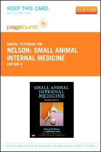 cover image - Small Animal Internal Medicine - Elsevier eBook on VitalSource (Retail Access Card),4th Edition