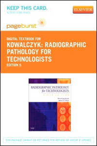 cover image - Radiographic Pathology for Technologists - Elsevier eBook on VitalSource (Retail Access Card),5th Edition
