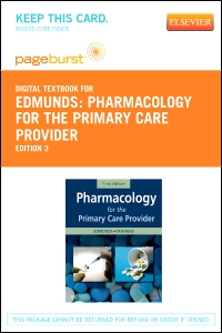 cover image - Pharmacology for the Primary Care Provider - Elsevier eBook on VitalSource (Retail Access Card),3rd Edition
