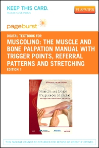 cover image - The Muscle and Bone Palpation Manual with Trigger Points, Referral Patterns and Stretching - Elsevier eBook on VitalSource (Retail Access Card)