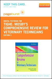 cover image - Mosby's Comprehensive Review for Veterinary Technicians - Elsevier eBook on VitalSource (Retail Access Card),3rd Edition