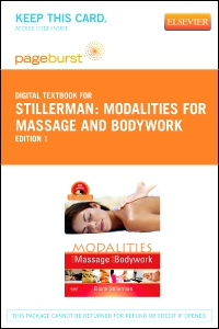 cover image - Modalities for Massage and Bodywork - Elsevier eBook on VitalSource (Retail Access Card)