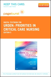cover image - Priorities in Critical Care Nursing - Elsevier eBook on VitalSource (Retail Access Card),5th Edition