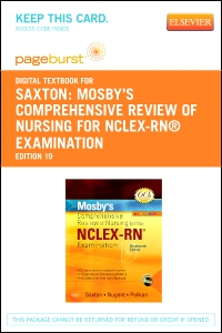 cover image - Mosby's Comprehensive Review of Nursing for NCLEX-RN® Examination - Elsevier eBook on VitalSource (Retail Access Card),19th Edition