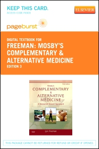 cover image - Mosby's Complementary & Alternative Medicine - Elsevier eBook on VitalSource (Retail Access Card),3rd Edition