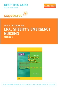cover image - Sheehy's Emergency Nursing - Elsevier eBook on VitalSource (Retail Access Card),6th Edition