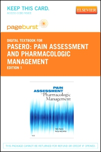 cover image - Pain Assessment and Pharmacologic Management - Elsevier eBook on VitalSource (Retail Access Card)
