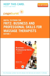 cover image - Business and Professional Skills for Massage TheTherapists - Elsevier eBook on VitalSource (Retail Access Card)
