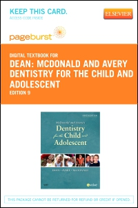 cover image - McDonald and Avery Dentistry for the Child and Adolescent - Elsevier eBook on VitalSource (Retail Access Card),9th Edition