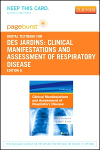 cover image - Clinical Manifestations and Assessment of Respiratory Disease - Elsevier eBook on VitalSource (Retail Access Card),6th Edition