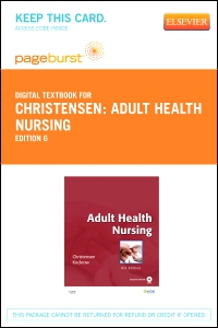 cover image - Adult Health Nursing - Elsevier eBook on VitalSource (Retail Access Card),6th Edition