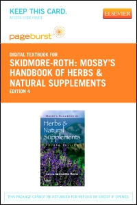 cover image - Mosby's Handbook of Herbs & Natural Supplements - Elsevier eBook on VitalSource (Retail Access Card),4th Edition