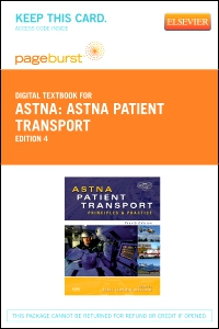 cover image - ASTNA Patient Transport - Elsevier eBook on VitalSource (Retail Access Card),4th Edition