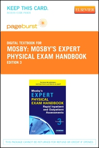 cover image - Mosby's Expert Physical Exam Handbook - Elsevier eBook on VitalSource (Retail Access Card),3rd Edition