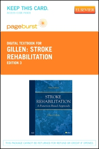 cover image - Stroke Rehabilitation - Elsevier eBook on VitalSource (Retail Access Card),3rd Edition