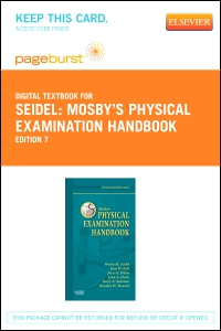 cover image - Mosby's Physical Examination Handbook - Elsevier eBook on VitalSource (Retail Access Card),7th Edition