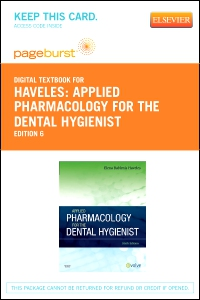 cover image - Applied Pharmacology for the Dental Hygienist - Elsevier eBook on VitalSource (Retail Access Card),6th Edition