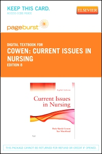 cover image - Current Issues in Nursing - Elsevier eBook on VitalSource (Retail Access Card),8th Edition