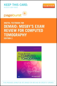 cover image - Mosby's Exam Review for Computed Tomography - Elsevier eBook on VitalSource (Retail Access Card),2nd Edition