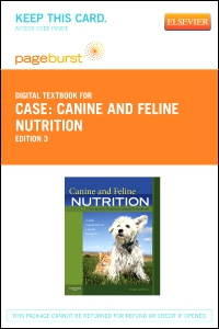 cover image - Canine and Feline Nutrition - Elsevier eBook on VitalSource (Retail Access Card),3rd Edition