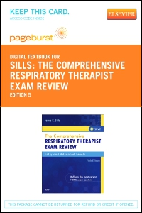 cover image - The Comprehensive Respiratory Therapist Exam Review - Elsevier eBook on VitalSource (Retail Access Card),5th Edition