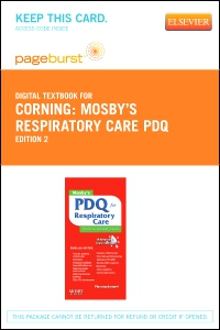 cover image - Mosby's Respiratory Care PDQ - Elsevier eBook on VitalSource (Retail Access Card),2nd Edition