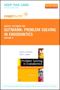 cover image - Problem Solving in Endodontics - Elsevier eBook on VitalSource (Retail Access Card),5th Edition