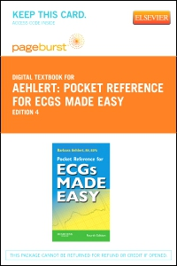 cover image - Pocket Reference for ECGs Made Easy - Elsevier eBook on VitalSource (Retail Access Card),4th Edition
