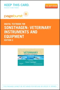 cover image - Veterinary Instruments and Equipment - Elsevier eBook on VitalSource (Retail Access Card),2nd Edition