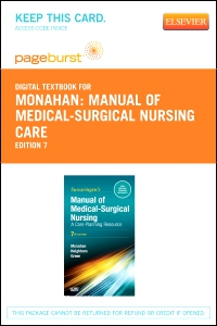 cover image - Manual of Medical-Surgical Nursing Care - Elsevier eBook on VitalSource (Retail Access Card),7th Edition