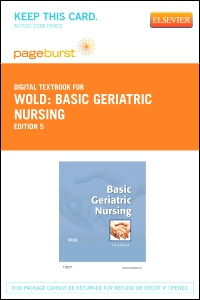 cover image - Basic Geriatric Nursing - Elsevier eBook on VitalSource (Retail Access Card),5th Edition