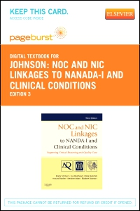 cover image - NOC and NIC Linkages to NANDA-I and Clinical Conditions - Elsevier eBook on VitalSource (Retail Access Card),3rd Edition