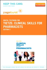 cover image - Clinical Skills for Pharmacists - Elsevier eBook on VitalSource (Retail Access Card),3rd Edition