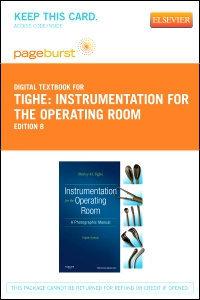cover image - Instrumentation for the Operating Room - Elsevier eBook on VitalSource (Retail Access Card),8th Edition