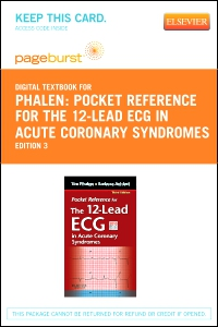 cover image - Pocket Reference for the 12-Lead ECG in Acute Coronary Syndromes - Elsevier eBook on VitalSource (Retail Access Card),3rd Edition
