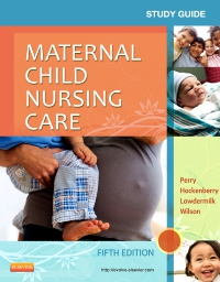 cover image - Study Guide for Maternal Child Nursing Care,5th Edition