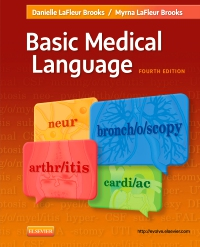 cover image - Basic Medical Language - Elsevier eBook on VitalSource,4th Edition