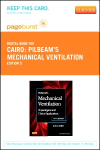 cover image - Pilbeam's Mechanical Ventilation - Elsevier eBook on VitalSource (Retail Access Card),5th Edition