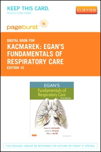 cover image - Egan's Fundamentals of Respiratory Care - Elsevier eBook on VitalSource (Retail Access Card),10th Edition